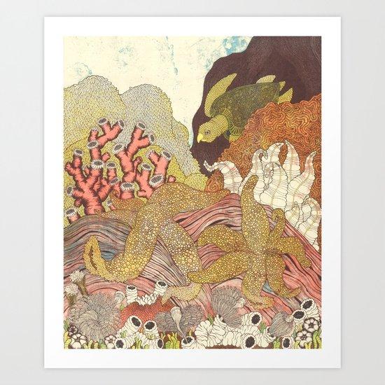 Aquatic Art Print