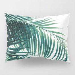 Palm Leaves Green Vibes #6 #tropical #decor #art #society6 Pillow Sham