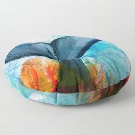 The Fluke Floor Pillow