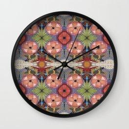 MARINA'S FLOWERING MUSIC Wall Clock