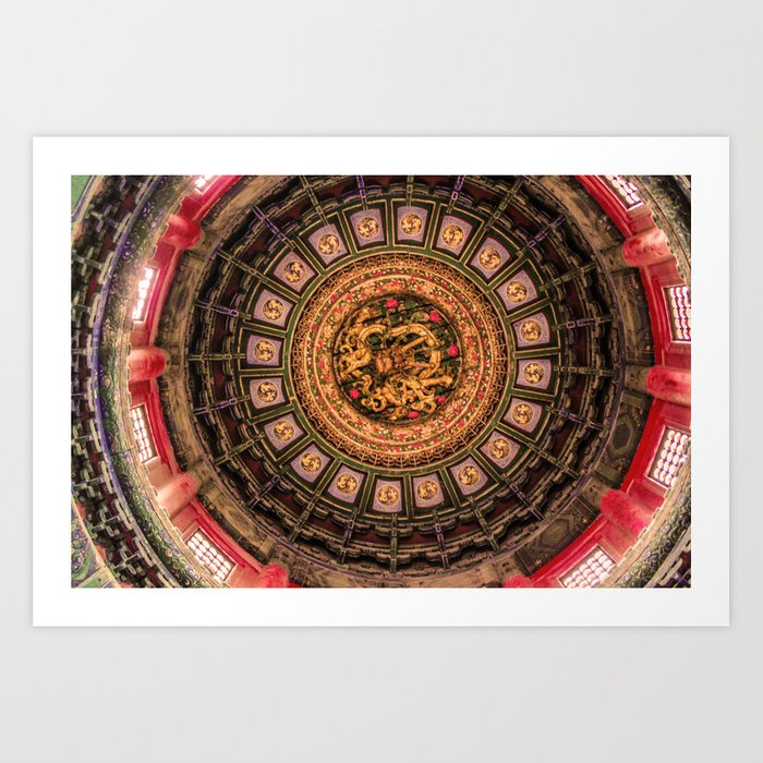 China Beijing Art Print
