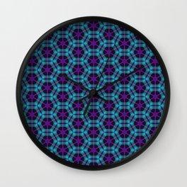 Neon Flux 05 Wall Clock