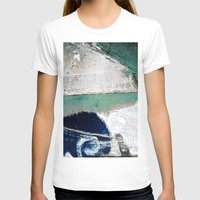 surf T-shirts featuring Surf by Bella Blue Photography