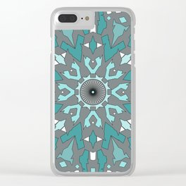Abstract ethnic pattern. Clear iPhone Case