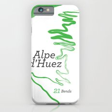 Famous Climbs: Alpe d'Huez 1, Modern Spring iPhone 6 Slim Case