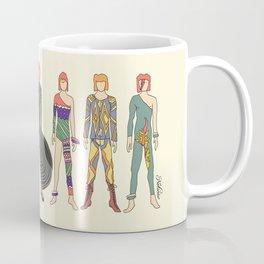 7 Red Heroes Heads Coffee Mug