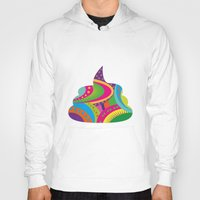 poop Hoodies featuring Poop Art by Azadeh Navabi