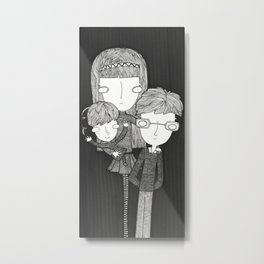 The Baudelaire orphans Metal Print