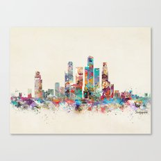 Singapore city skyline Canvas Print