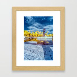 Holocaust Memorial Framed Art Print