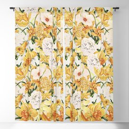 Wordsworth  and the daffodils. Blackout Curtain