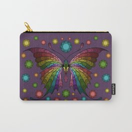 Diamond in the Sky Butterfly Carry-All Pouch