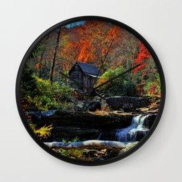Autumn Oils Wall Clock