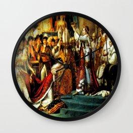 Le Sacre De Napoleon  Wall Clock