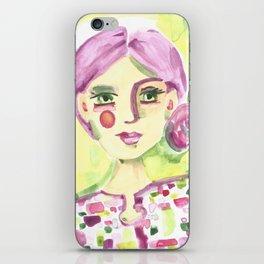 Lavender Lady iPhone Skin