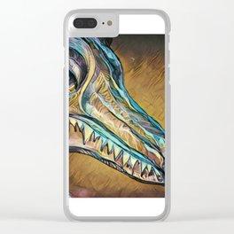 Crystal Kingdom Guardian Clear iPhone Case
