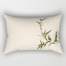 Oriental bamboo 006 Rectangular Pillow