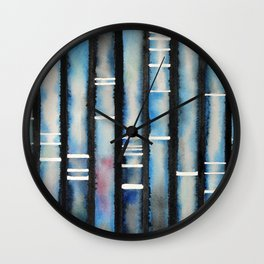 Electrophoresis 2 Wall Clock