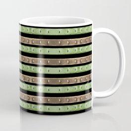 Camo Stripes Print Coffee Mug
