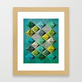 Hedron 2 Framed Art Print