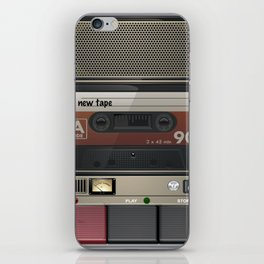 Casette Tape Player iPhone Skin