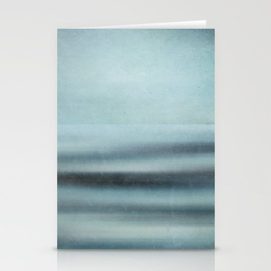 abstract sea Stationery Cards