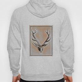 Antlers and Skull Hoody