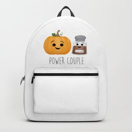 Pumpkin + Spice = Power Couple Backpack