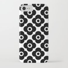 Black and white simple floral pattern . 1 iPhone 7 Slim Case