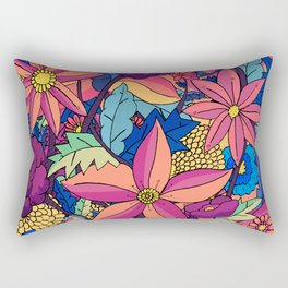 flowers upon flowers Rectangular Pillow