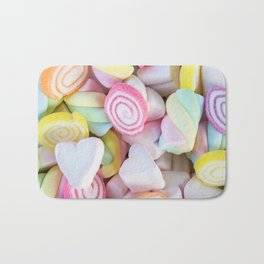 Pastel Rainbow Candy Bath Mat