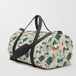 Women Readers - Pattern Duffle Bag