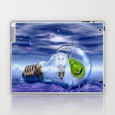 The perfect couple to dive Laptop & iPad Skin
