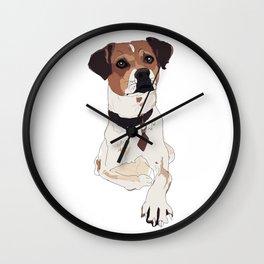 Hello. I'm a dog. Wall Clock