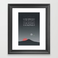 1Q84 Framed Art Print