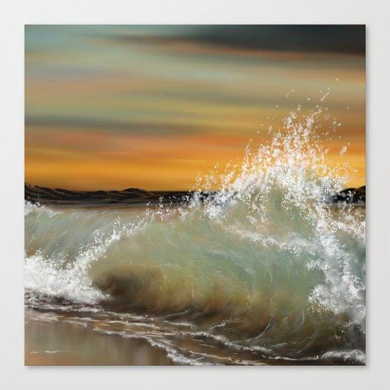 Sea Waves 2 Canvas Print