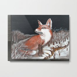 WINTER Metal Print