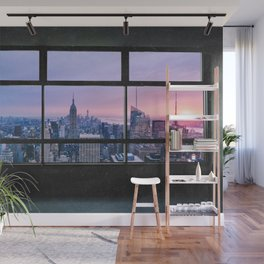 New York City Skyline Views Wall Mural