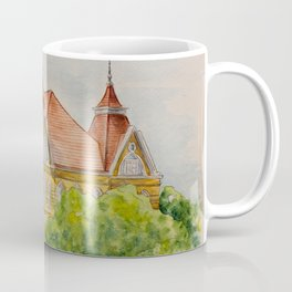 Texas State (SWT) University Old Main Building, San Marcos, TX Coffee Mug