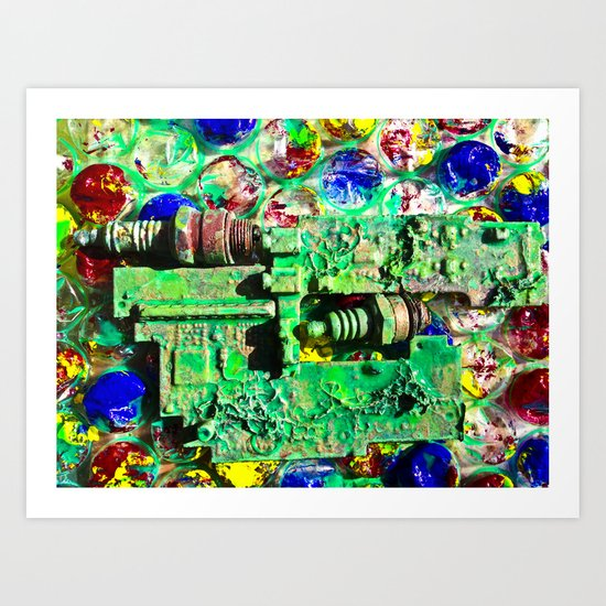 Life Is Complicated Art Print