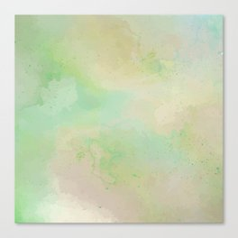 Speckled Grassy Meadow Canvas Print