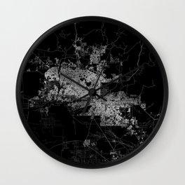 phoenix map Wall Clock