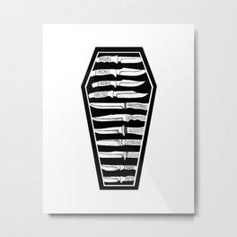 Coffin Club III Metal Print