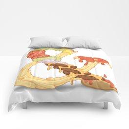 Burger & Fries Comforters