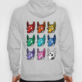 Candy Colored Space Coyotes Hoody