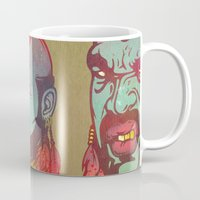 foo fighters Mugs featuring Pity Da Foo by Beery Method