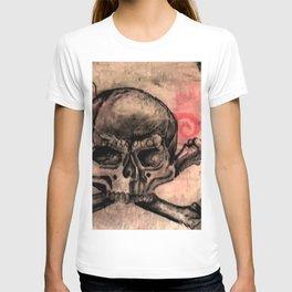 skull&rose T-shirt