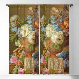 "Gerard van Spaendonck ""Flower Still-life with an Alabaster Vase"" Blackout Curtain"