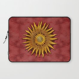 """""""Aztec Sun and pickled coral"""" Laptop Sleeve"""