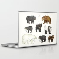 dwight Laptop & iPad Skins featuring Bears by Amy Hamilton